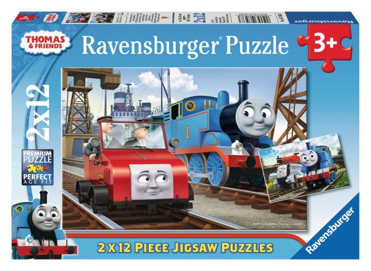 Ravensburger Thomas Amp Friends 2 X Jigsaw Puzzle 07568 Etwist