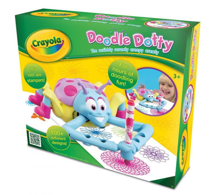Crayola 10663 Crayola Doodle Dotty Battery Powered Kids Art Toy With ...